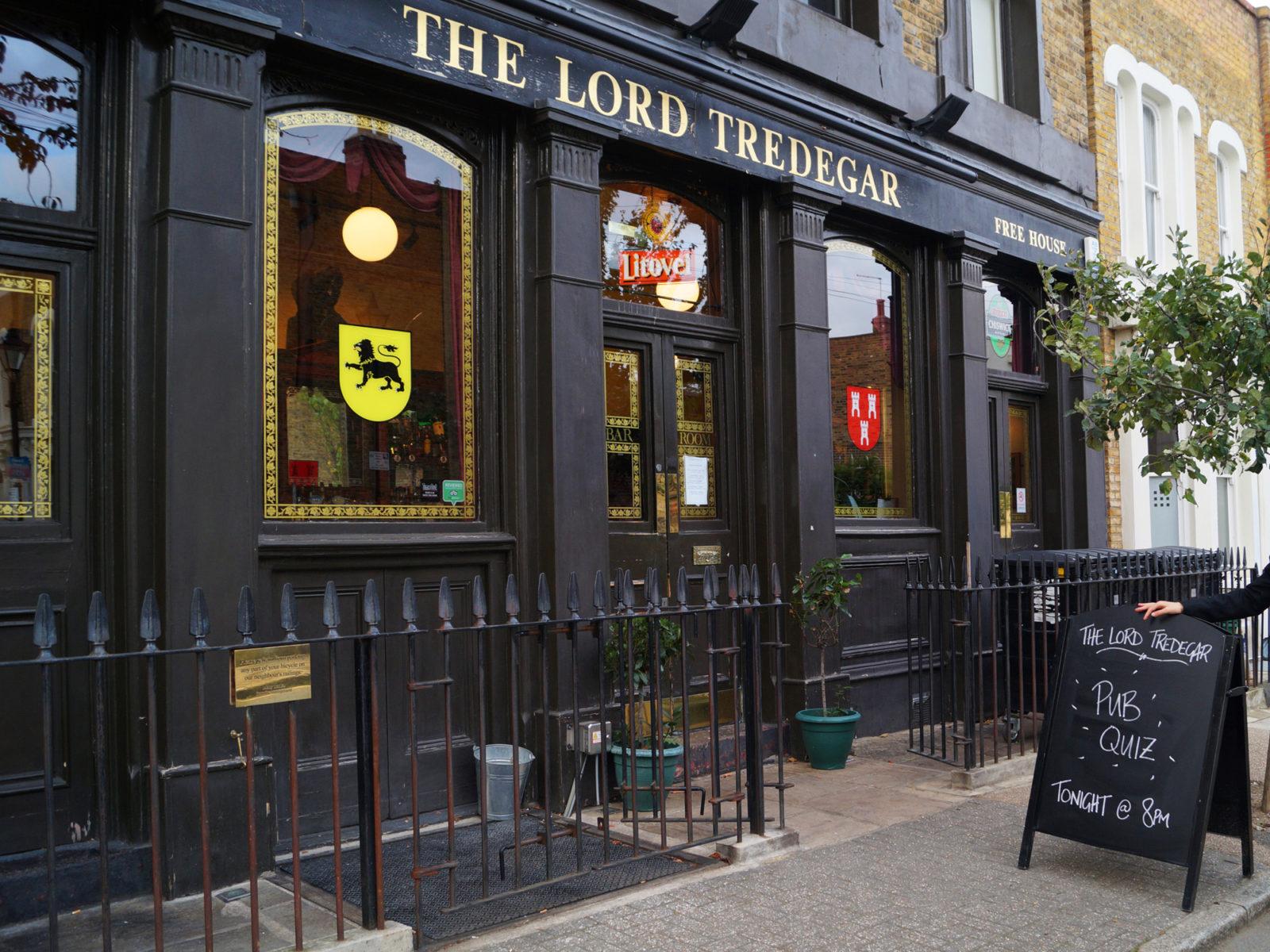 The Lord Tredegar pub